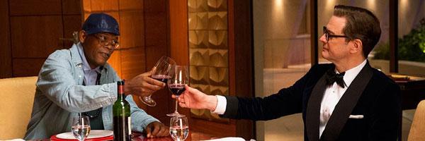Kingsman cena do jantar com Valentine