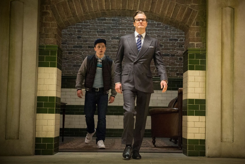 Kingsman harry e gary