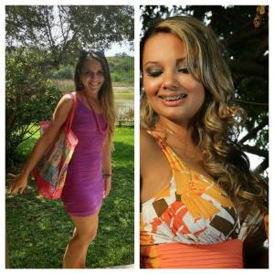 Carine Raposo e Camila Moreira