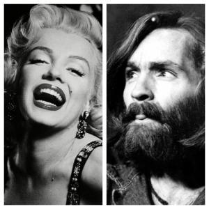 Marilyn Monroe e Charles Manson